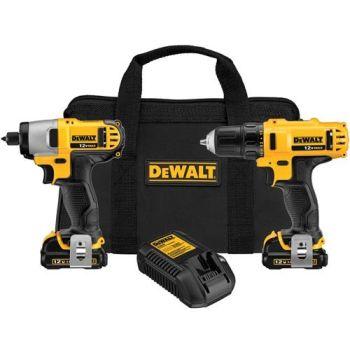 DeWalt DCK211S2 12 Volt Max  Drill/Impact Driver Combo Kit Review